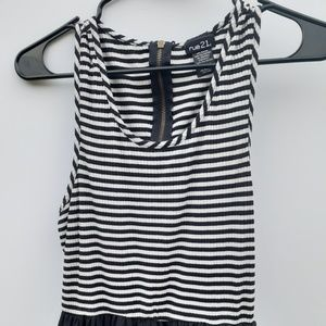 Rue 21 striped dress.